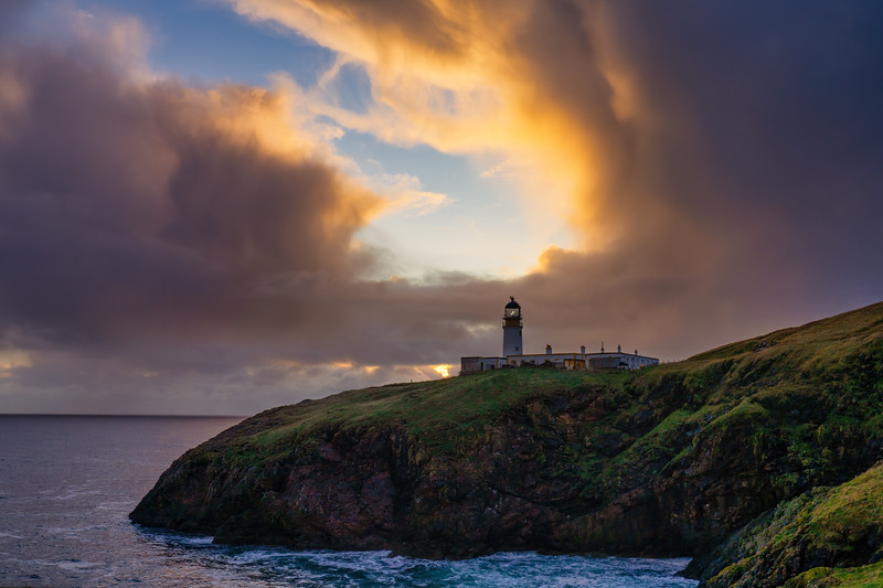 Tiumpan Head Lighthouse, Stornoway, Scotland