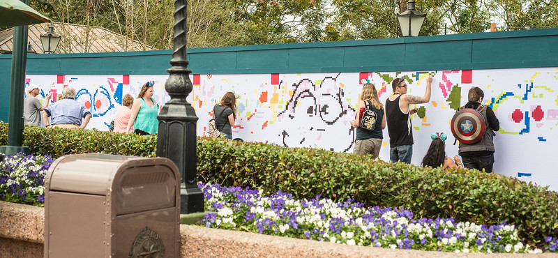 Epcot International Festival of the Arts - Mural - Magic Kingdom Walt Disney World