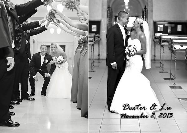 Lu & Dexter 8x12 Flush Mount Wedding Album