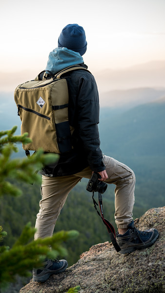 Outdoor Gear | Ogden Made Capture Backpack IG Story