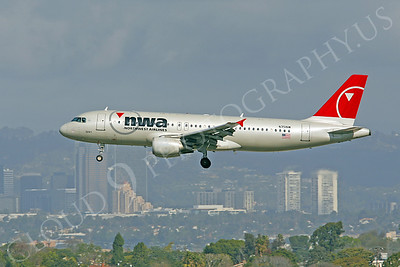 Northwest Airline Airbus A320 Airliner Pictures