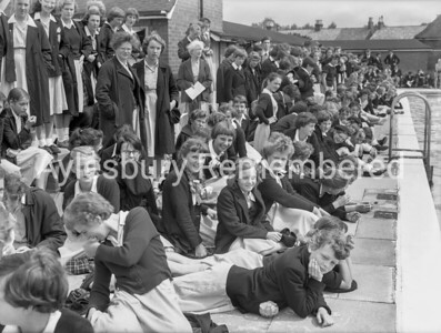 Grammar School Swimming Gala, July 24th 1958