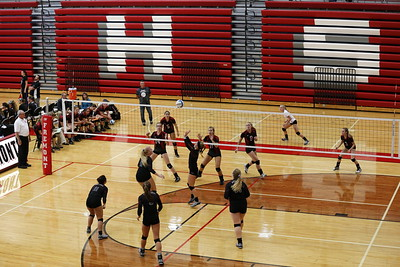 Girls F, JV, V Volleyball - 10/19/2017 Shelby, Whitehall