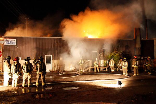 November 20, 2009 - 2nd Alarm - 133 Laird Dr.