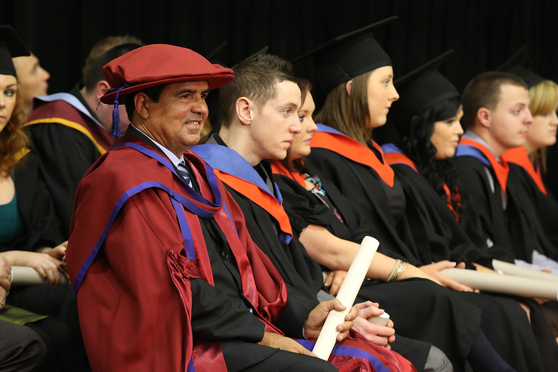 Pictured Paulo Marcio Da Silva Melo who was conferred a Doctor of Philosophy. Picture: Patrick Browne.