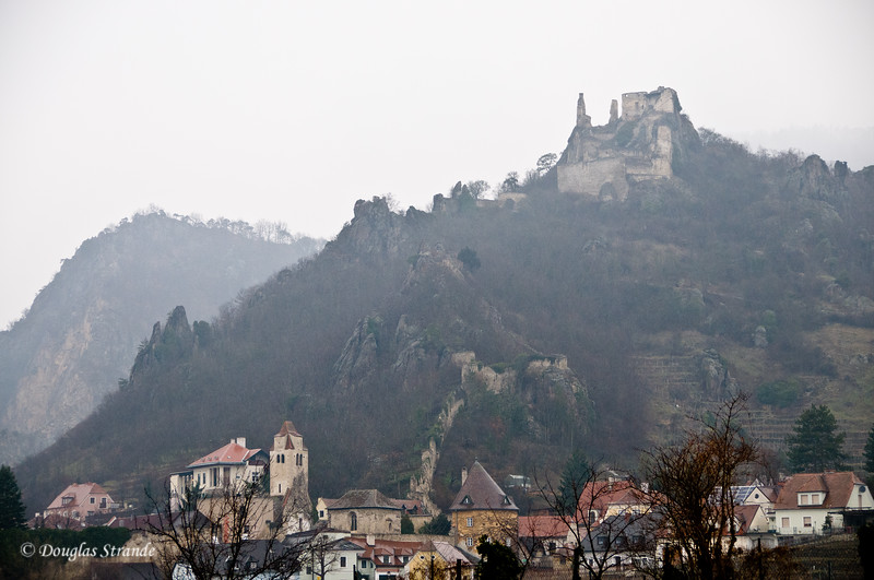 Village and old castle in the Wachau Valley