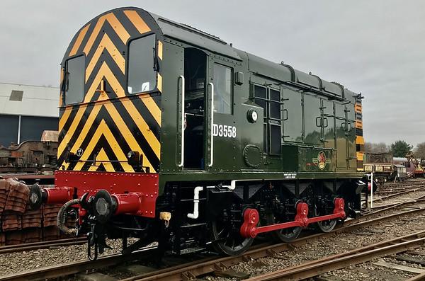 Class 08443 ( D3558 ) Diesel Shunter