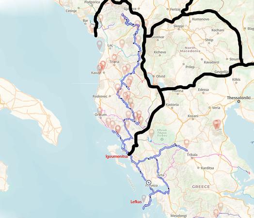Griechenland Albanien 2021