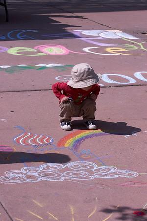 CHALK4PEACE '09 Boulder Public Library, Boulder, CO 9/13/09