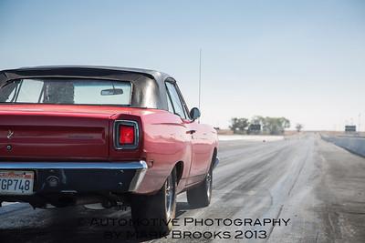 Red Roadrunner convertible