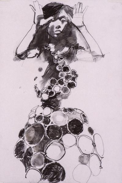 The Circle Dress (Study) (1998)
