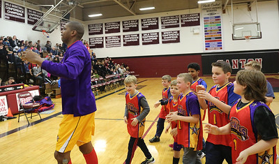 Harlem Wizards Lights on Canton Fundraiser