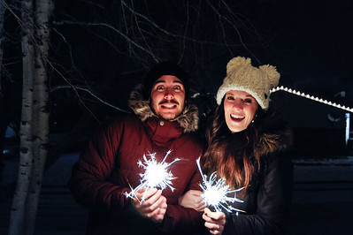 2016-12-31 New Year's Eve Family Fireworks