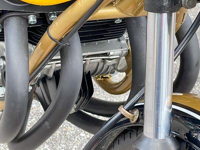 Honda CB750 Custom (SS) on IMA