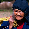 Old woman, Yangshuo, China