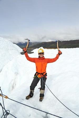 Ice Climbing with Sam