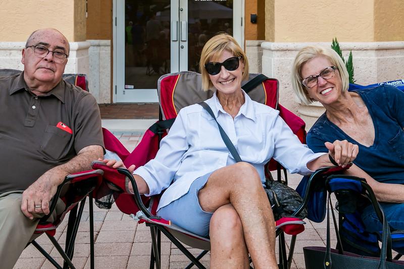 Steve and Deborah Richman,  and Roberta Horne