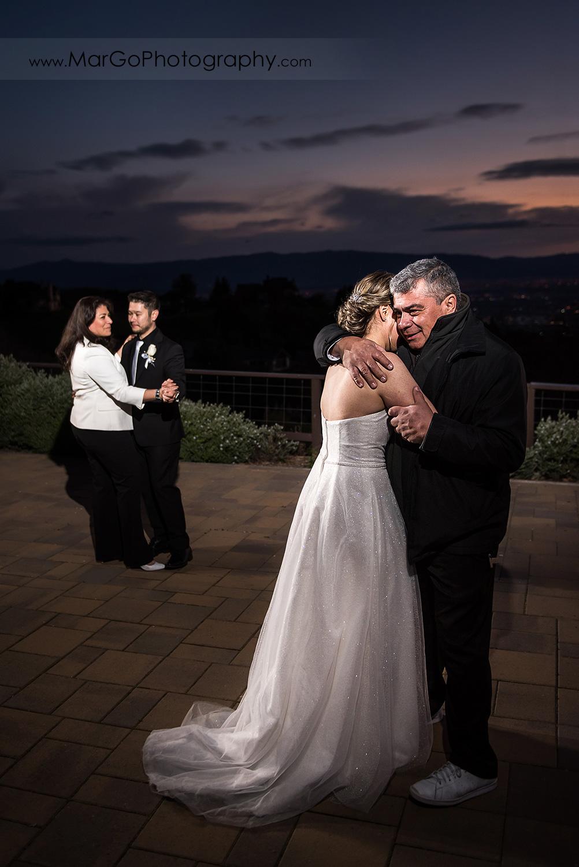 parent dance at Mt Hamilton GrandView Restaurant in San Jose