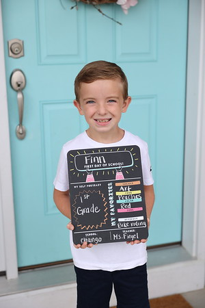 First Day of School (1st Grade)