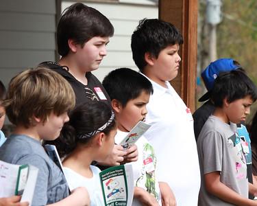 Cherokee Youth Center golf clinic, May 2015