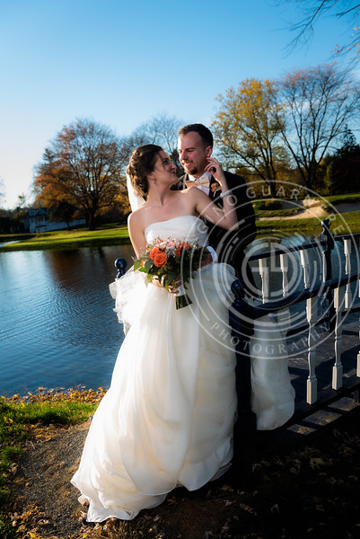 Ava and Austin, Downingtown Country Club by Gino Guarnere