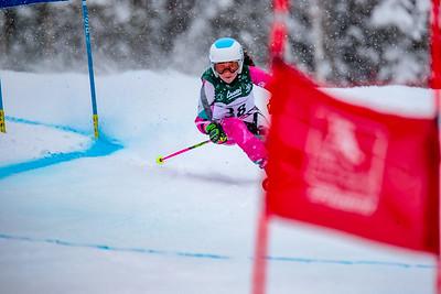 2018-03-08 Giant Slalom Girls Run #2