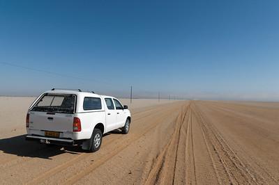 Fahrt von Damaraland nach Swakopmund
