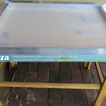 SKU: SP-SCREEN/4050M, Aluminium Screen Frame 400x500mm Inner Size (with 120 Mesh) by 1.4mm Thickness Square Tubes