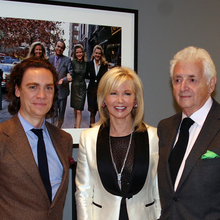 Dec 7, 2011-Town & Country's Jay Fielden Hosts Harry Benson's Private Exhibition of Photographs