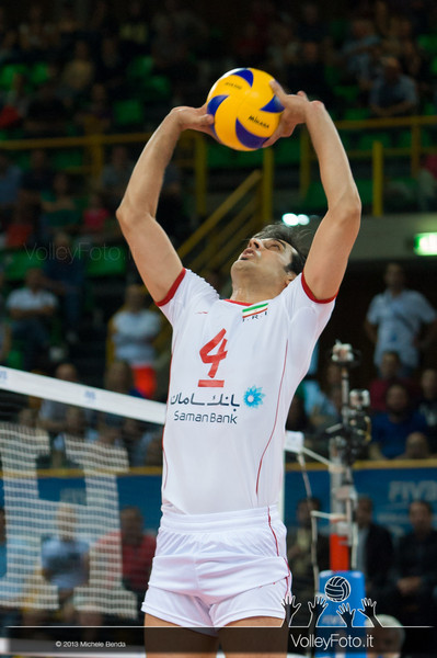 Mir Saeid Marouflakrani [IRI] - Italia-Iran, World League 2013 - Modena