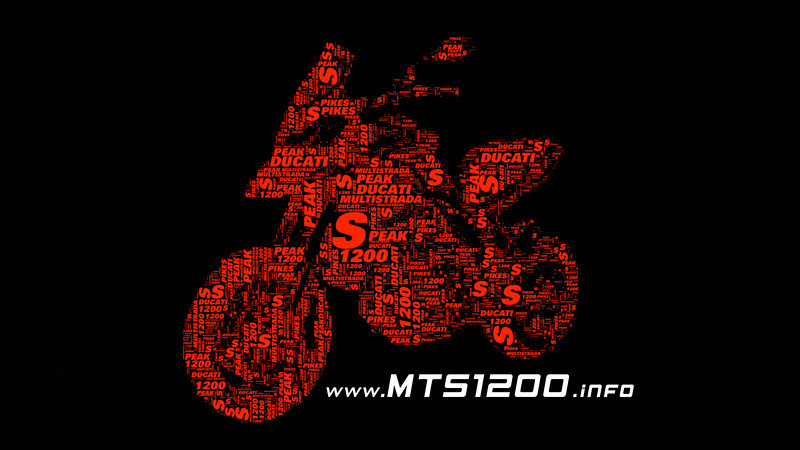 2/3: Pikes Peak Ducati Multistrada 1200 - information resources: www.MTS1200.info