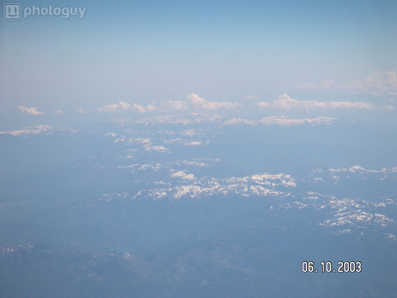 Cockpit View of Cascades