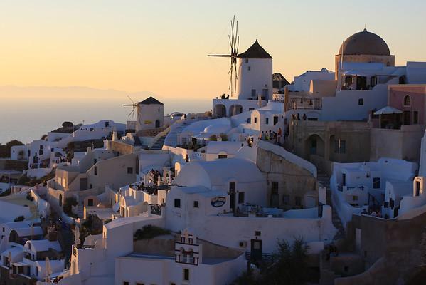 Santorini and Paros June 2012