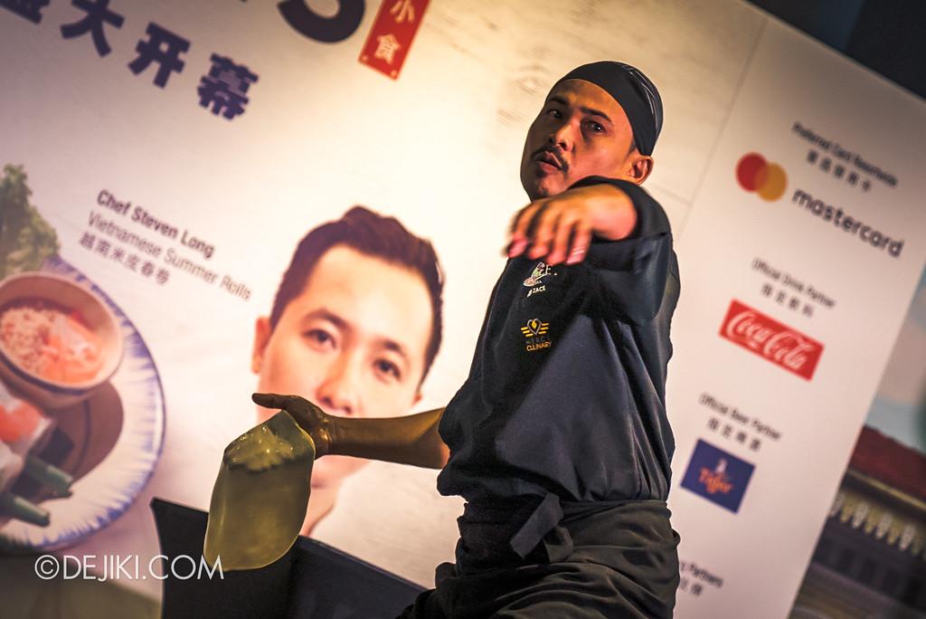 RWS Street Eats 2018 - Chef Zainal Abidin Flying Roti Canai
