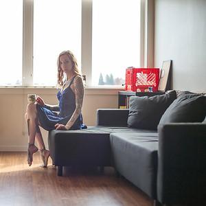 Cheryl at Home