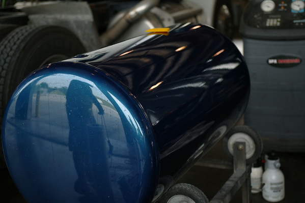 Peterbilt Semi Fuel Tanks