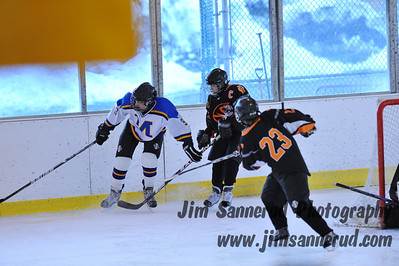 White Plains vs. Mahopac at Ebersole Modified Ice Hockey