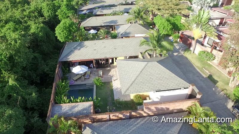 Alanta Villa Aerial View