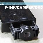 SKU: F-INK/DAMPER/DX5P/UV, A Set of 8 UV Resist Dampers 4mm Inlet for EPSON DX5/XP600 (Black)