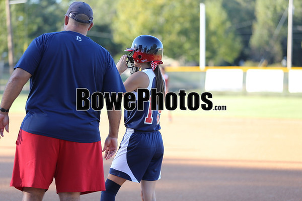 South Jones vs Laurel (JV & Varsity sp softball - 2013)