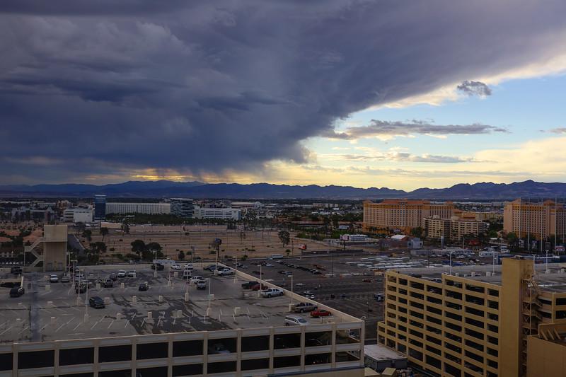 A rare event in Las Vegas