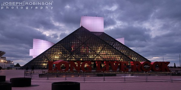 Rock and Roll Hall of Fame and Cleveland, OH