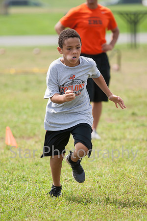 Cyclone Youth Football Camp 08-03-13