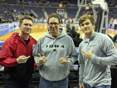 NCAA Men's Basketball Cincinnati vs Iowa (2019-03-22)