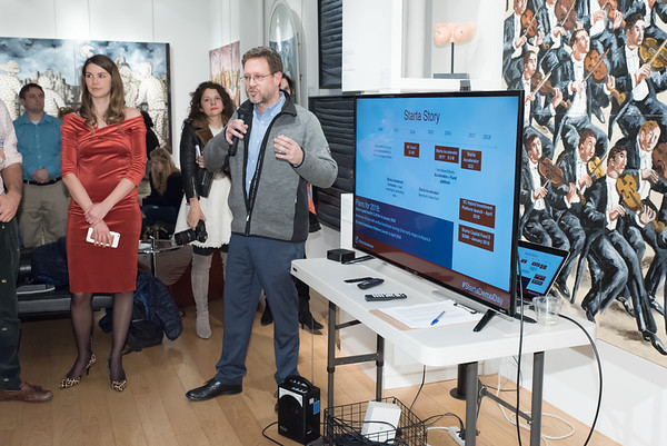 Dec 20, 2017 Starta Accelerator's Demo Day & Celebration  hosted by Alexandre Gertsman Contemporary Art Gallery