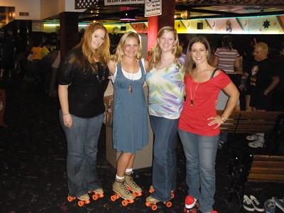 2008 1018 Melody's Birthday Skating Party Moonlight Rollerway