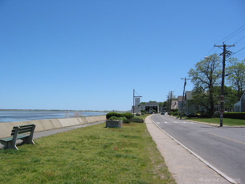 On the road to Plum Island, from Newburyport