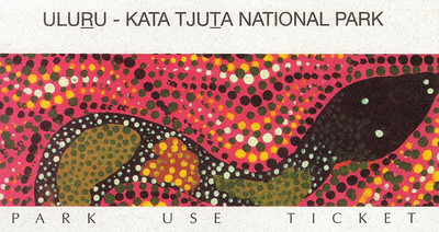 "Ayers Rock - Uluru  1995 ""The Red Center"""