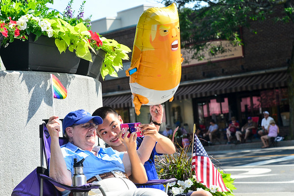 Fourth of July parade in Brattleboro - 070419