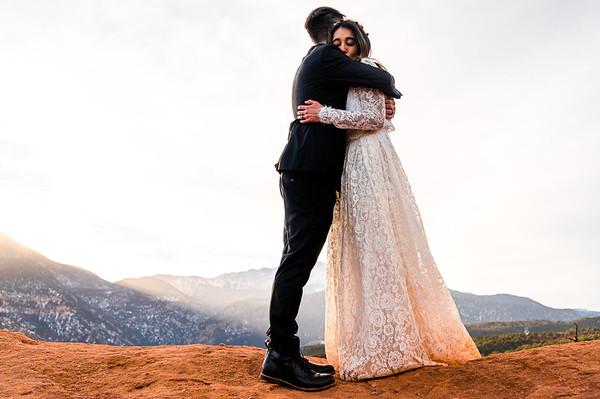 Monica and Corey's elopement